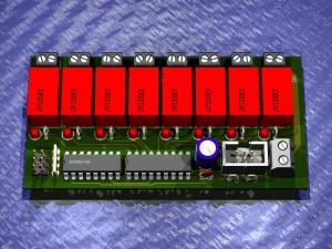I2C-RelaisBoard-8x-1.0